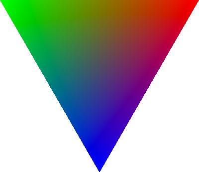 Same triangle upside down.
