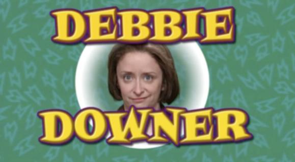 Debbie Downer (actress Rachel Dratch)